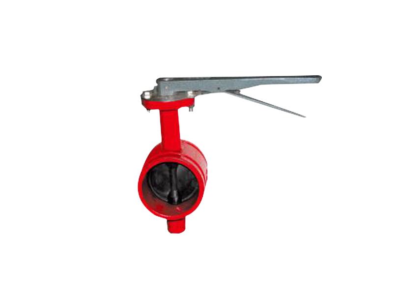 D81X4沟槽式中线蝶阀