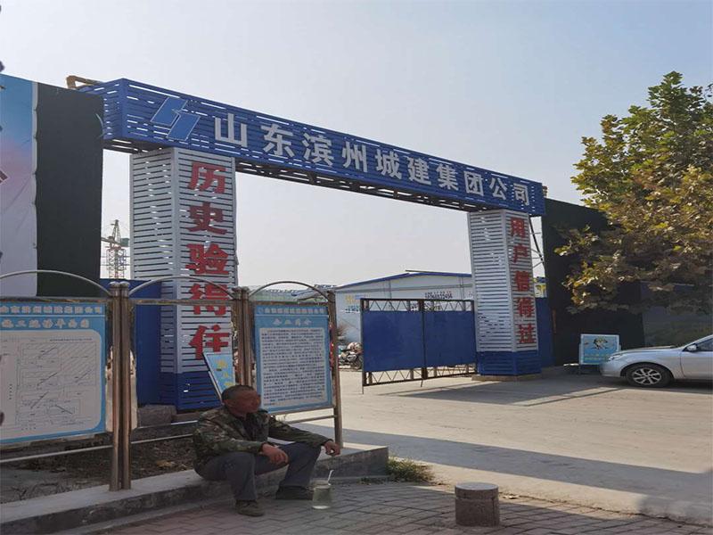 山东滨州一工程安装抗震支架的案例展示